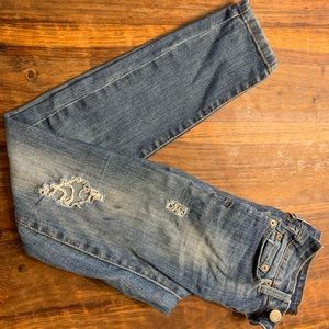 Aeropostale Jean leggings jeggings 000 short